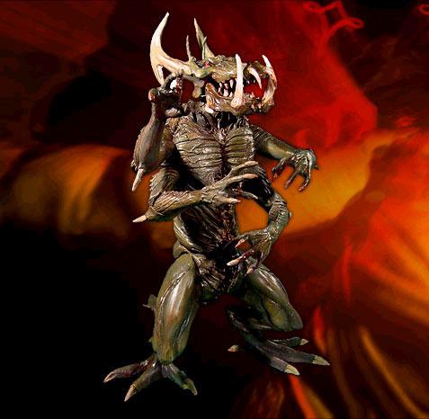 Figurines Diablo pour l'année 2003