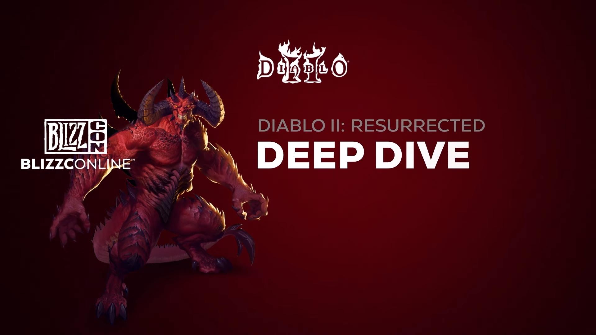 BlizzConline 2021 : conférence 'Tout sur Diablo II: Resurrected'